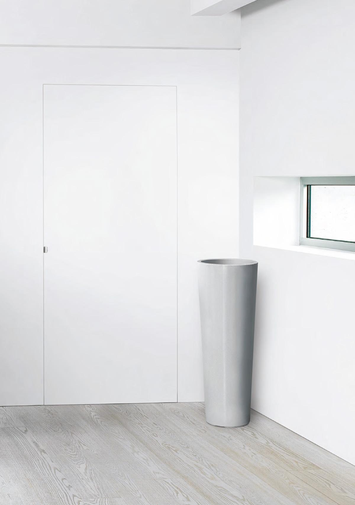 Porta filomuro dierre mimesi minimal ed elegante for Dierre porte