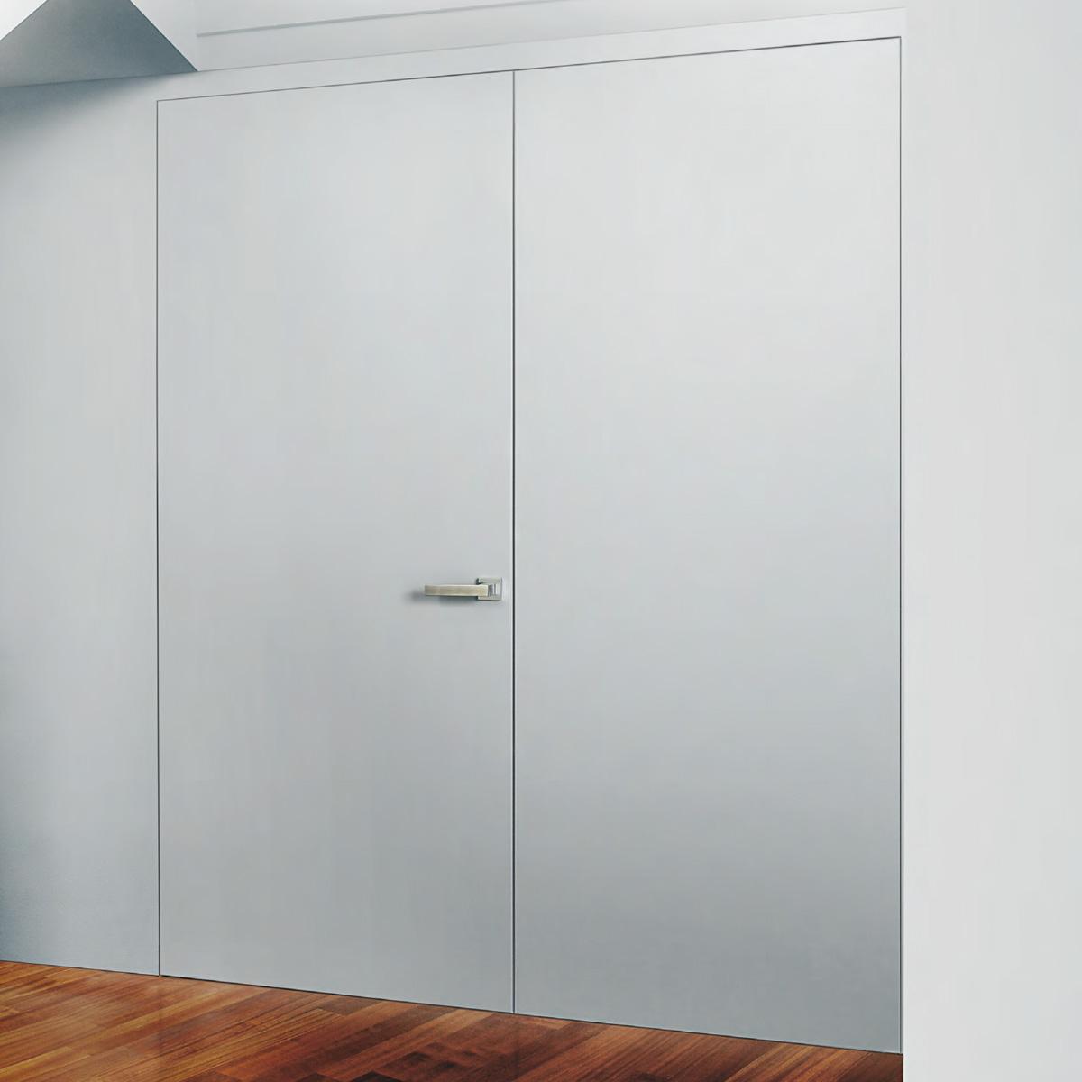 Porta filomuro Dierre Mimesi, minimal ed elegante | Fabbroni ...