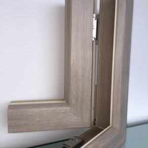 Pvc fabbroni serramenti for Infissi color legno